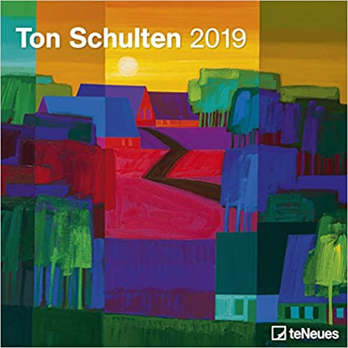 2019 Ton Schulten Grid Calendar por Teneues Calendars & Stationery epub