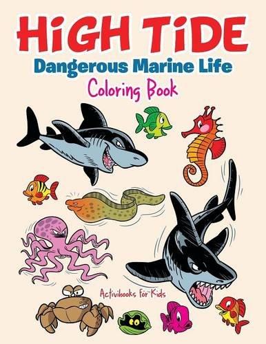 High Tide: Dangerous Marine Life Coloring Book ebook