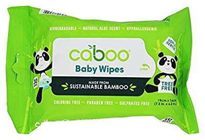 Caboo - Bamboo Baby Wipes Value Pack