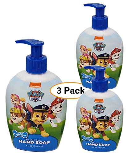 (Paw Patrol Kids Liquid Hand Soap Pump Bottle - 8oz (3 pack) )