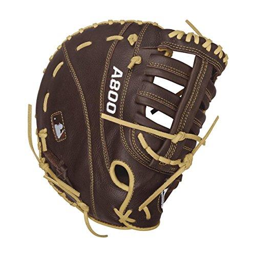 Wilson Showtime First Base Baseball Gloves, Brown/Blonde, 12
