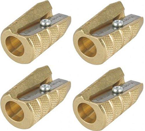 Alvin Brass Bullet Sharpener 9866X4