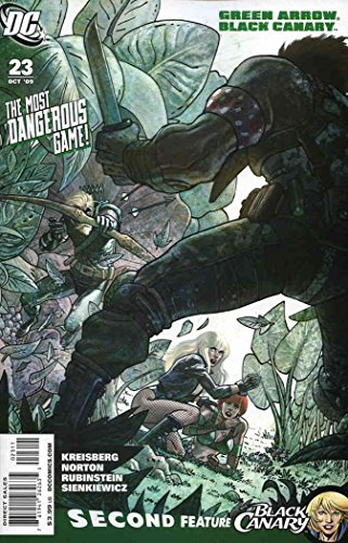 Green Arrow/Black Canary #23 VF/NM ; DC comic book