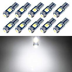 T5 LED Bulb Dashboard Dash Lights White ...