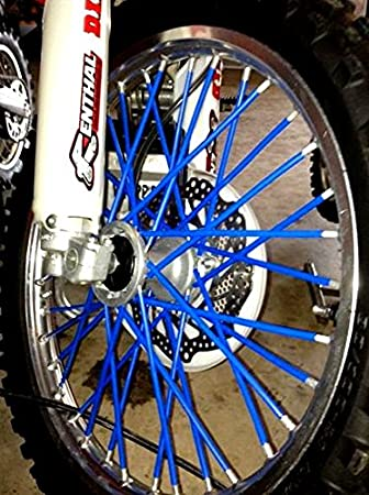 Skins Covers Coats-Dirt Bike 72 Spokes Wraps Bykas MADE IN USA Yellow-Spoke