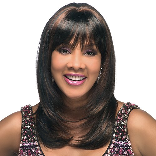 Vivica A. Fox CHARLI-V New Futura Fiber, PS Cap Wig in Color P430GO ()
