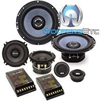 Gladen RS165.3 6.5 170W RMS RS Line Series 3-Way Component Speakers System