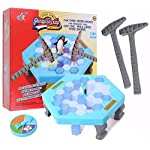 Penguin Trap Ice Breaking Puzzle Toy Save the Penguin on Ice Table Game / Desktop Game / Parent-child Game / Early Child Educational Board Game Toy ~ Cafolo