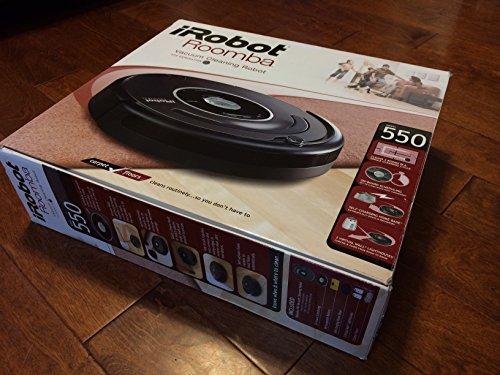 iRobot Roomba 550 / 551 AeroVac Technology Vacuum Cleaning (Roomba 550)