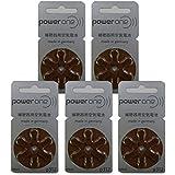 パワーワン 補聴器用 空気電池 PR41(312) 6粒入り×5シートセット