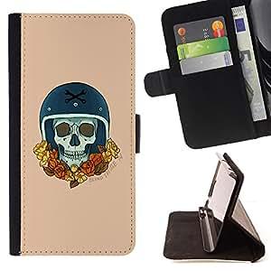 BullDog Case - FOR/Apple Iphone 5C / - / GOLD RACER WREATH CHAMPION BIKE CAR /- Monedero de cuero de la PU Llevar cubierta de la caja con el ID Credit Card Slots Flip funda de cuer