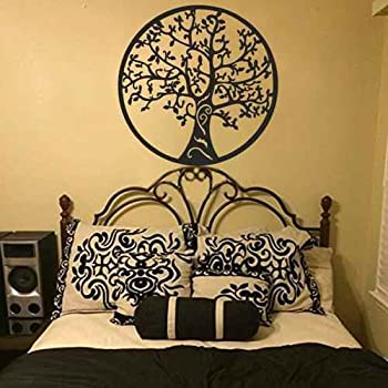 Tree Of Life Wall Sticker Home Decor Tree Vinyl Wall Art Bedroom Wall Decal (White