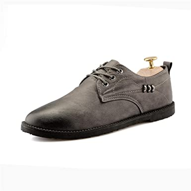 c3dc305ee1959 Amazon.com: Gobling Men's Oxford Shoes Lace Up Casual Walking Shoes ...