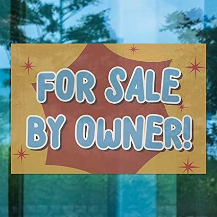 30x20 House for Sale CGSignLab 5-Pack Chalk Banner Clear Window Cling