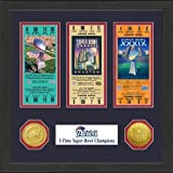New England Patriots Super Bowl Championship Ticket Collection