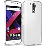 Moto G4 Plus Case/G4 Case, PLESON® [Tou] Moto G4/G4 Plus Clear Case, Crystal Clear Case Lightweight/ NO Bulkiness / Shock Absorption / Scratch Resistant Soft TPU bumper Case for Moto G4/G4 Plus (2016)