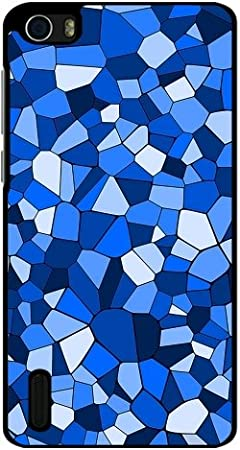 Funda para Huawei Honor 6 - Azul Patrón De Mosaico Geométrico by ...