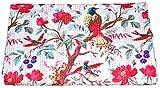 Vedant Designs Vintage Indian Handmade Quilt Kantha Bedspread Throw Cotton Blanket Gudri Queen