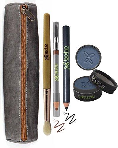 UASHMAMA Pencil Case Slim  + BOHO Green Revolution MAKEUP -