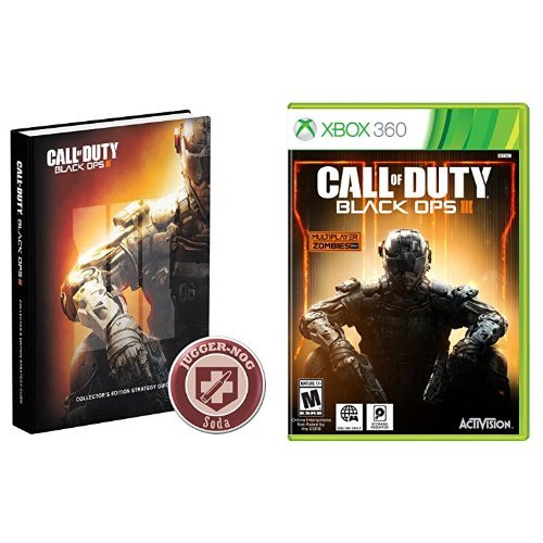 Call Of Duty:  Black Ops Iii - Xbox 360 Game And Strategy Guide Bundle Picture