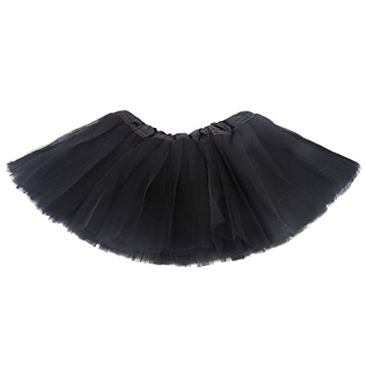 baab25eec1 Amazon.com: belababy Baby Tutu Skirt, Infant Tutus, 5 Layers Tulle ...