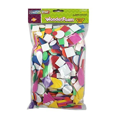 (Chenille Kraft CK-4308BN Peel & Stick Wonderfoam 720 Per Bag (Pack of 12) Grade Kindergarten to 1, 12.6