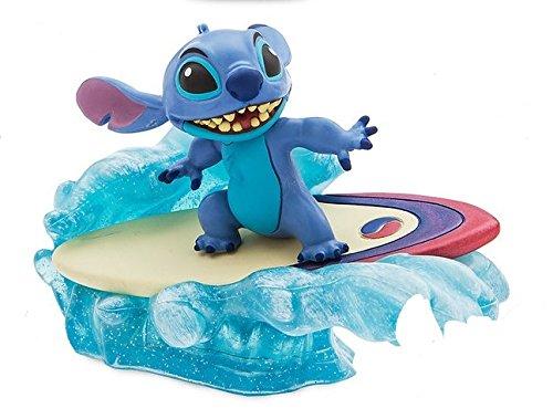 Disney Lilo And Stitch 4'' Surfer Stitch Mini Pvc Figure Figurine Cake Topper Collectible Toy