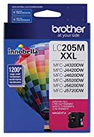 Brother Printer LC205M Super High Yield Ink Cartridge, Magenta by Brother Printer
