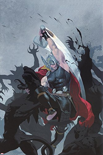 Thor: God of Thunder #3 Cover: Thor Poster by Esad Ribic