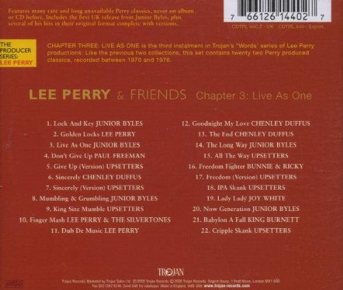 Chapter 3: Live as One by Trojan Records UK (Image #1)