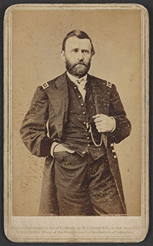 Gen. Ulysses S. Grant in military uniform] / M.B. Brady & Co. National Photographic Portrait Galleries, No. 352 Pennsylvania Av., Washington, D.C. & New ()