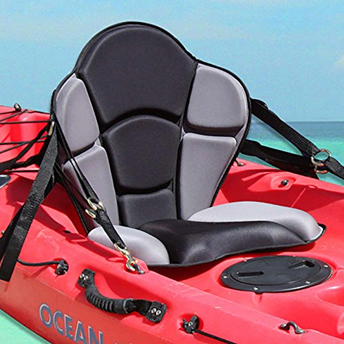 Kayak Seat Back System (GTS Expedition Molded Foam Kayak Seat - No Pack)