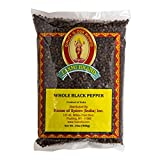 Laxmi Premium Whole Black Peppercorns (Tellicherry) - 14 oz (5-Pack)