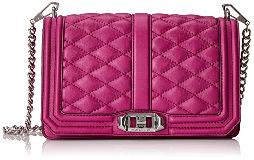 Rebecca Minkoff Love Cross Body Bag Magenta One Size