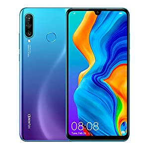 HUAWEI P30 Lite New Edition Marie-L21BX Dual-SIM 256GB (GSM Only | No CDMA) Factory Unlocked 4G/LTE Smartphone (Peacock Blue) – International Version