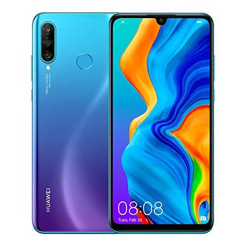 HUAWEI P30 Lite 15,6 cm (6.15″) 6 GB 256 GB Ranura híbrida Dual SIM Azul 3340 mAh P30 Lite, 15,6 cm (6.15″), 6 GB, 256 GB, 48 MP, Android 9.0, Azul