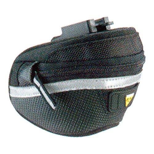 Topeak Satteltasche Wedge Pack II, Black, 12.5 x 8.5 x 9.5 cm, 0.5 Liter, TC2270B