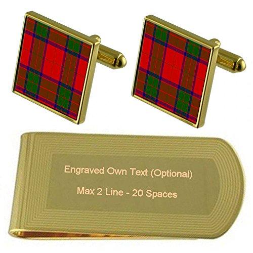 Clan Tartan Robertson Tone Tartan Clan Clip Engraved Gold Money HwqFn5E