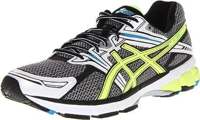 ASICS Men's GT-1000 Running Shoe,Onyx/Lime/Royal,8.5 M US