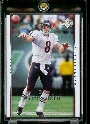 Rex Grossman Nfl Football - 2007 Upper Deck # 29 Rex Grossman - NFL Football Card