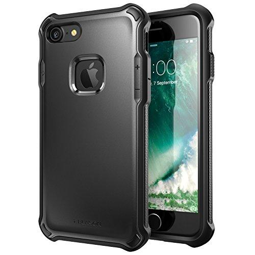 限られたドラッグ供給i-Blason iphone7 ケース 米軍MIL規格取得 全面保護 (ブラック)