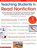 Teaching Students to Read Nonfiction, Alice Boynton and Wiley Blevins, 0439376521