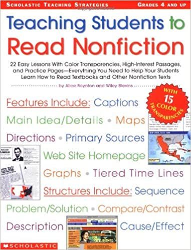 Amazon.com: Teaching Students to Read Nonfiction: Grades 4 and Up ...