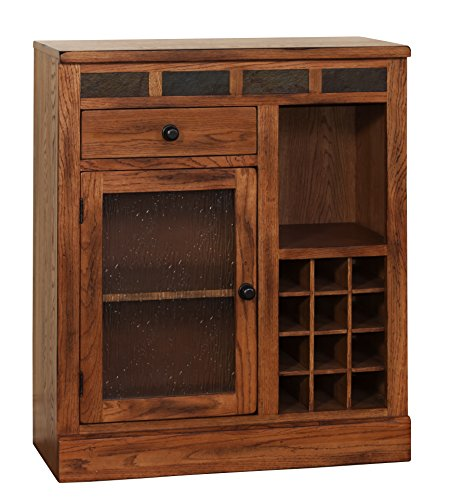 Sunny Designs Sedona Mini Bar, 32 by 14 by (California Bookcase Cabinet)