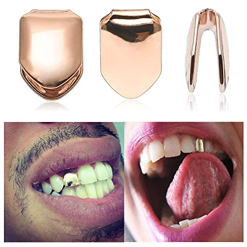 - Sumanee Unisex Trendy Solid Grillz Grill Single Tooth Caps Hip Hop Teeth Mold Kit