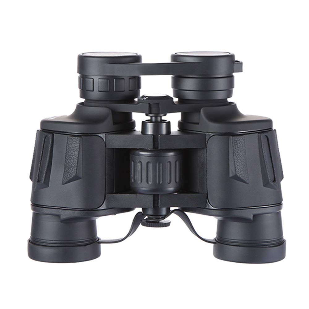 ZGQA-GQA 8x40 Binoculars HD High Magnification Black Large Eyepiece Wide Angle Coating Portable Compact Telescope 48mm Objective Lens for Adult by ZGQA-GQA