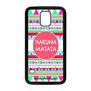 Custom High Quality WUCHAOGUI Phone case The Lion King,No Worries Protective Case For Samsung Galaxy S5 - Case-20