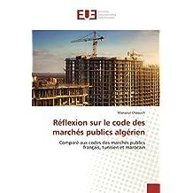 CODE DES MARCHES PUBLICS ALGERIEN