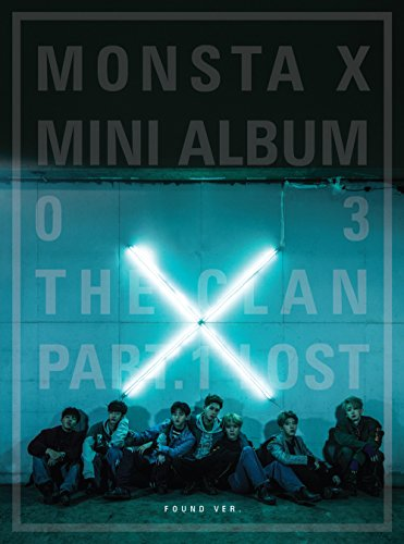 Monsta X - The Clan 2.5 Part.1 Lost Found ver. CD + Photo Booklet
