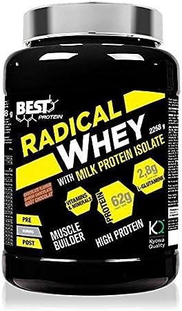 RADICAL WHEY 80% 2268g (Concentrado de proteinas de suero ...